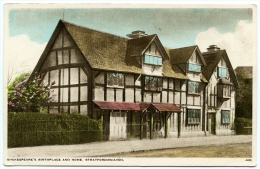 STRATFORD UPON AVON : SHAKESPEARE'S BIRTHPLACE AND HOME - Stratford Upon Avon