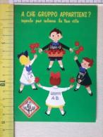 Cart.-  N° 3 Cart.  - Associazione Volontari  Italiani  Del Sangue. - Non Classificati