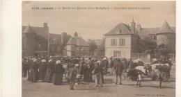 22 - CPA - LANNION - Le Marché Aux Bestiaux - Belle Carte ANIMEE - Lannion