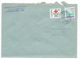 Yugoslavia,Serbia,Macedonia 1990 - RED CROSS 1990 AS ADDITIONAL.letter Aleksandrovac - 1945-1992 République Fédérative Populaire De Yougoslavie