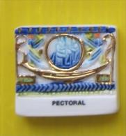 Fève - Trésors D' Egypte - Pectoral  -  Réf AFF 2003 39 - Histoire