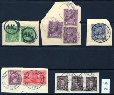 Australia : Various Ship, Paquebot Sydney On USA Stamps, AK, Garden Island (NSW) Postmarks (5 Pieces)