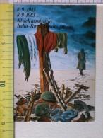 Cart.-   8-9-1943  1983 - 40° Dell'armistizio Italia-Forze Armate Alleate. - Non Classificati