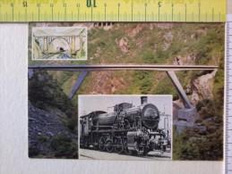 Cart.-   Cuneo-Ventimiglia 1928,1979 - Cartolina Ufficiale Della Manifestazione Del G.A.T.T. - Locomotiva A Vapore ..... - Non Classificati