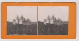 Vues Stéréoscopiques Photo Sur Carton - Pierrefonds Le Chateau - Photos Stéréoscopiques