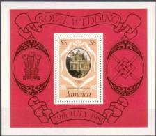 Jamaica 1981 Yvertn° Bloc 16 *** MNH   Cote 50 FF Prince Charles Et Diana - Jamaique (1962-...)