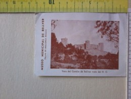 Cart.-   Museo Municipal De Bellver - Palma De Mallorca -Baleari - Biglietto D'entrata. - Eventi