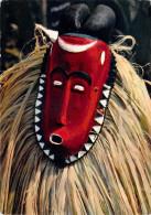Afrique-(Côte D'Ivoire) Masque Africain African Mask Baoulé (A) (ethnie Ethnique - Editions : Hoa Qui 3719) *PRIX FIXE - Côte-d'Ivoire