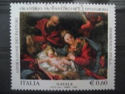 ITALIA USATI 2009 - NATALE 2009 - SASSONE 3134 - RIF. M 0279 - 6. 1946-.. Repubblica