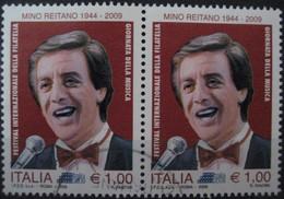 ITALIA USATI 2009 - ITALIA 2009 MINO REITANO - SASSONE 3137 - RIF. M 0280 - 6. 1946-.. Repubblica