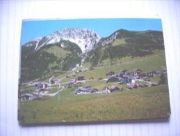 Liechtenstein Malbun Mit Doppelsesselbahn - Liechtenstein