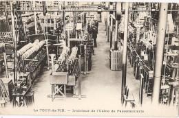 La Tour Du Pin  Interieur  De  L'usine De  Passementerie - La Tour-du-Pin