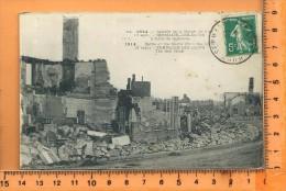 SERMAIZE-LES-BAINS: 1914, Bataille De La Marne, L' Hotel De La Cloche - Sermaize-les-Bains