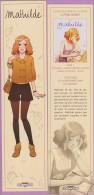 Marque-page °° Delcourt  - Jenny Mathilde Le Temps Des Soupirs  °-°  6 X 25 - Marque-Pages