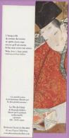 Marque-page °° Diane De Selliers - Peinture Le Dit Du Genji  °-°  5 X 20 - Bladwijzers