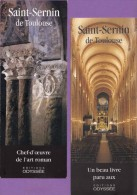 Marque-page °° Odyssée - Saint-Sernin La Basilique De Toulouse Détails Et Choeur  - 8 X 21 - Marque-Pages