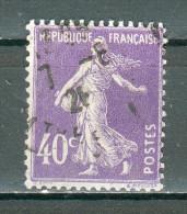 Collection FRANCE ; 1927-31 ; Type Semeuse Camée ; Y&T N° 236 ; Lot : ; Oblitéré - 1906-38 Semeuse Camée