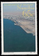 NAMIBIA - Scott #760 Incorporation Of Walvis Bay Territory Into Namibia / Mint NH Stamp - Namibia (1990- ...)