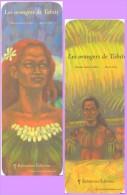 Marque-page °° Balivernes - R. Galliez Les Orangers De Tahiti °-°  5 X 15 - Lesezeichen