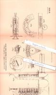 Original Patent - Anton Richard Breinl In Graslitz / Kraslice , Böhmen , 1893 , Blasinstrument , Posaune , Trompete !!! - Musikinstrumente
