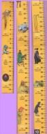 Marque-page °° Décimètre 1018. Grands Détectives - Pliable En 5 X 20  °-° - Lesezeichen