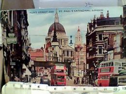 ENGLAND LONDON ST PAUL'S TRAM AUTOBUS  VB1957 FB7026 - St. Paul's Cathedral
