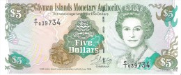 Cayman Islands - Pick 17  - 5 Dollars 1996 - Unc