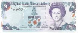 Cayman Islands - Pick 30a  - 1 Dollar 2003 - Unc