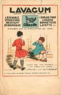 CARTE PUBLICITE LAVAGUM LESSIVE - Pubblicitari