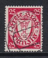 (01230) Danzig 294 Gestempelt Geprüft - Dantzig