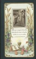 La Science De La Justice. Image Appliquée, Calice Et Coins En Relief Doré.  Bouasse Jeune, 27279. - Images Religieuses