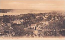 Maine General View Calais