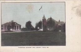 Maine Saco Thornton Academy And Library