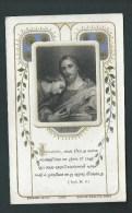 Bouasse Jeune. Belle Litho Gris-bleu Et Dorée. Jésus, Partage Le Pain. N°4045 - Images Religieuses