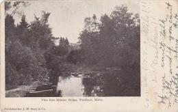 Maine Washburn View From Stratton Bridge