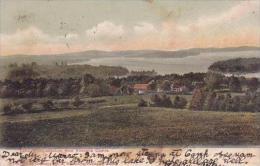 Maine Lake Winnipesaukee From Kimballs Castle 1906