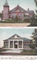 Maine Saco Thormton Academy & Thornton Library 1905