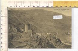 Z54781 VILLENEUVE CASTELLO DI CHALET ARGENT CASTELLI - Aosta