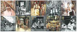 GROSSBRITANNIEN GRANDE BRETAGNE GB 2003 CORONATION SET OF 10V.  SG 2368-77 MI 2121-30 SC 2127-36 YV 2444-53 - 1952-.... (Elizabeth II)