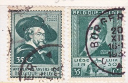 BELGIUM  216-7  (o)  ART  EXPO.  RUBENS - Used Stamps
