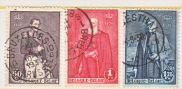 BELGIUM  218-20  (o) - Used Stamps
