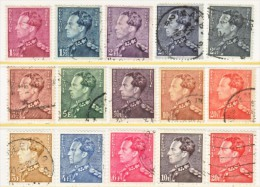 BELGIUM  294+    (o) - Used Stamps