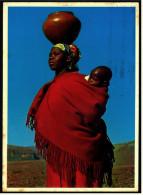 South Africa  -  Lesotho  -  Woman And Child  -  Ansichtskarte Ca. 1974    (5256) - Südafrika