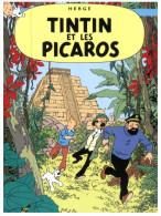 (567) Tintin Ewt Les Picaros + Germany Asterix Stamps At Back Of Postcard - Comics