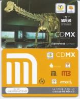 MEXICO - METRO - RECHARGEABLE CARD - 50 ANIV MUSEO - Wochen- U. Monatsausweise
