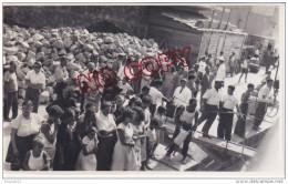 Au Plus Rapide Voyage Italie Italia 1952 Iles Eoliennes Lipari Le Port Animation Beau Format - Luoghi