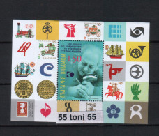BULGARIA / BULGARIE  2015 100 years since the birth of the artist Stefan Kunchev  S/S- MNH