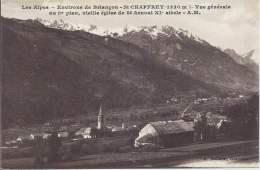 05 - SAINT-CHAFFREY - Hautes-Alpes - Alt. 1320 M.- Vue Générale - Au 1er Plan, Vieille église De Saint-Arnoul XIe Siècle - France
