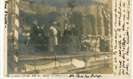 POST CARD LONDON HARROW COLLEGE KING EDWARD VII AND QUEEN MARY 1905 - Other