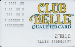 Colorado Belle Casino 1st Issue Qualifier Card / Slot Card From Laughlin, NV   ....[RSC]..... - Casino Cards
